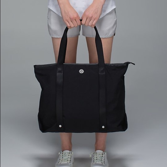 44b177aae62 lululemon athletica Bags | Lululemon Summer Lovin Tote Black | Poshmark